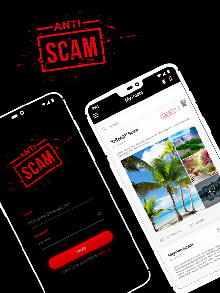 anti scam ios app development